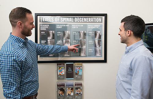 Guided office tour of Landmark Chiropractic