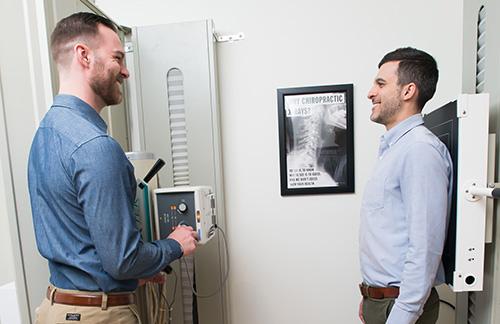 Chiropractic Postural X-Rays at Landmark Chiropractic